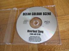 OCEAN COLOUR SCENE Riverboat Song EUROPEAN Promo CD single