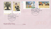 AUSTRALIA 16 JANUARY 1996 AUSTRALIA DAY OFFICIAL FIRST DAY COVER SHS
