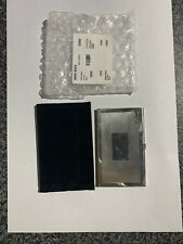 More details for mappin webb sterling silver card holder case. hallmarked