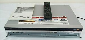 Sony RDR-HXD890 DVD Recorder & HDD 160GB Digital SD Tuner HDMI 1080p Tested.
