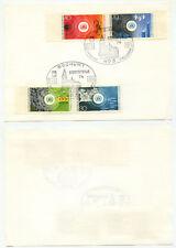 08839 - Mi.Nr. 774-777 - kompletter Satz - Umweltschutz - SST: Bochum 31.3.1974
