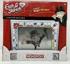 Ektch A Sketch Monopoly Limited Edition Drawing Toy With Magic Screen