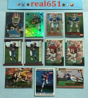 1999 ANTOINE WINFIELD Rookie Lot x 11 RC | Topps Chrome | Bowman Edge /2000 +