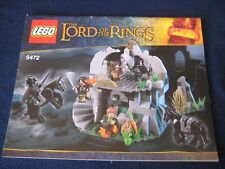 Lego The Lord of the RINGS  9472 ~LOTR Attack on Weathertop~ Instructions  ONLY!