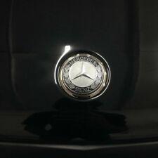 BLACK mercedes hood bonnet emblem w124 w202 w203 w204 w211 w210 w220 w124 w221
