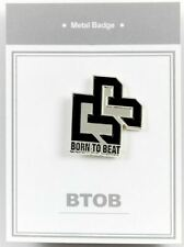 BtoB Metal Badge KPOP Goods Bag Accessory Korea Pop Star B2B Born to Beat