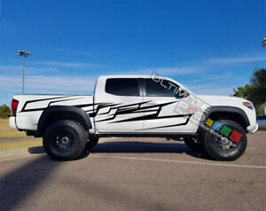 Graphics For Tacoma Stripe Decal Sticker for Toyota Lifted wrap 2006 2018 2021