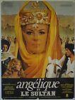 Affiche Cinéma ANGELIQUE ET LE SULTAN 1968 BORDERIE Mercier Hossein 120x160