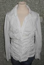 20 3/7 BLACKY DRESS BERLIN Blusa De Mujer Reunido TALLA 42 BLANCO MANGA LARGA