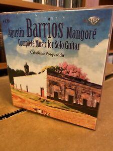 Barrios: Complete Music For Solo Guitar (6CD) Porqueddu OOP RARE NEW/SEALED!