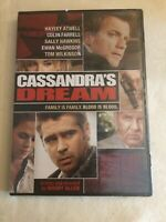 Cassandra's Dream - DVD (2007) - **New & Sealed**