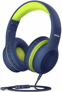 Mpow CH6S Kids Boys Girl Over Ear Headphones Volume Limit Safe 85dB,94dB D/Blue