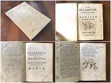 92) La Sulamitide boschereccia sagra di Neralco Pastore Arcade Roma 1739