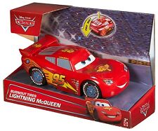 DISNEY CARS BURNOUT TIRES LIGHTNING MCQUEEN W/ LIGHT- UP TIRES CGK27 *NEW*