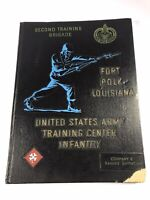 1965 US Army Training Center Infantry Fort Polk LA Yearbook Vietnam 2nd BN Co. E