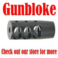 Muzzle brake MAX-TAC2 compensator 14x1mm suit .30 cal, .308,.300WM,.30-06 etc.