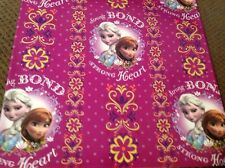 NEW FROZEN WITH ANNA & ELSA  5 sheets Gift wrapping paper for Birthday presents