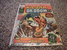 Astonishing Tales #8 (1971) DC Comics Ka-Zar Doctor Doom