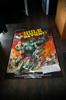 BRIDE OF THE INCREDIBLE HULK 4x6 ft French Grande Movie Poster Original 1978