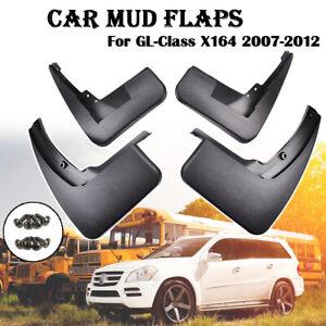 For Mercedes Benz GL-Class X164 07-12 Car Mud Flap Splash Guard 4pcs