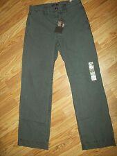 DOCKERS D3 Corte Clásico Vestido Marrón Caqui Pantalones Hombre Talla 29 30 x ~
