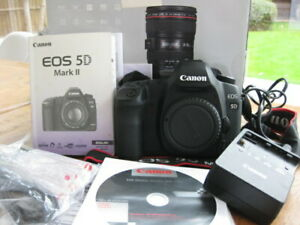 Canon EOS 5D Mark II - Body w Box & all Bits SHUTTER COUNT ONLY 796!!!