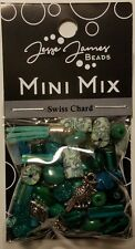 Jesse James Mini Mix Bead Set SWISS CHARD 9734 Bead Mix FREE US SHIPPING