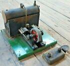 Vintage Merit Model Major 1550 Twin Cylinder Steam Engine w/ Burner J&L Randall