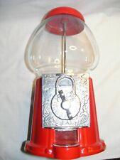 """Red Replica Bubble Gum,Candy or Peanut Vending Machine 11""""H X 6 1/2"""" W"""