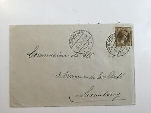 Luxemburg Luxembourg Brief 1933 Remerschen