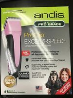 ANDIS PRO CLIP EXCEL 5 SPEED COAT TYPE SUPER DUTY CLIPPER MODEL SMC 65410 NEW!