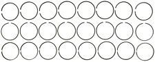 Engine Piston Ring Set Mahle 41549.030