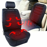 Universal Car Seat Heater Warmer Heated Cushion Pad Cover Adjustable Temperature