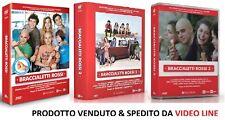 Dvd Braccialetti Rossi - Stagione 1-2-3 (9 Dvd + Gadget Braccialeti) .,...NUOVO