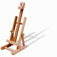 NAPLES ADJUSTABLE WOODEN TABLETOP DISPLAY ARTIST CANVAS PAINTING EASEL REA400 RB