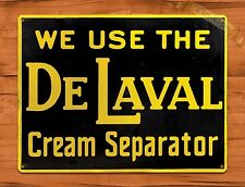 "TIN SIGN ""De Laval Cream Separator"" Farm Oil Garage Vintage Wall Decor"