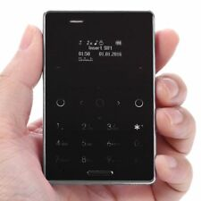 "Light AIEK M4 1.0"" Ultra-thin MTK Quad-Band Dual SIM Mini Pocket Bluetooth Phone"