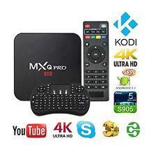 TV BOX Mxq Pro 4k Amlogic s905x Android 5.1 4k QUAD-CORE WIFI SMART 8gb+TASTIERA