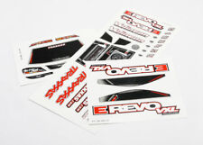 Traxxas 7113 Kit Aufkleber E-Revo 1/16 Vxl / Decal Sheets