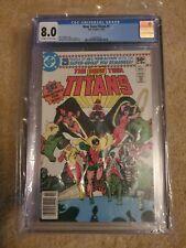 The New Teen Titans #1, Ravager, Starfire, Cyborg, Raven DC Comics CGC 8.0