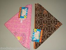 2 New CHURCH CHICK & WANT TO KNOW MY SIGN Christian JESUS Faith Bandana Set Lot