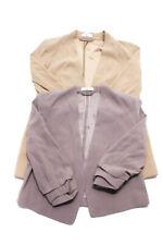 Babaton Womens Open Frpnt Blazer Jackets Beige Gray Size 2 Lot 2