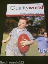 QUALITY WORLD - LEAD YOUR TEAM - APRIL 2005