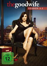 3 DVDs * THE GOOD WIFE - STAFFEL / SEASON 3.1 # NEU OVP +