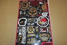 ONE INDUSTRIES GARAGE UNIVERSAL GRAPHICS STICKERS 12X18 SHEET  DECALS
