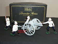 Britains 8918 Royal artillería de Caballo pistola 13LB + desprendimiento soldado de juguete figura Set