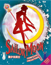 Sailor Moon Anime Collection Season 1-6 + 3 Movies English Dubbed DVD Japanese