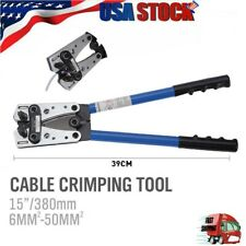 Mortilo Cable Lug Crimping Tool For Heavy Duty Wire Lugsbattery Terminalcopper