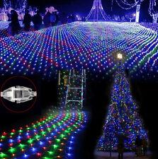 Pioggia 200 LED 5 metri.Luci Natale,cordoniera,rete cascata colorati multicolore
