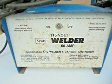 Sears 115 Volt Welder 50 Amp Combination Arc Welder Amp Carbon Arc Torch Model